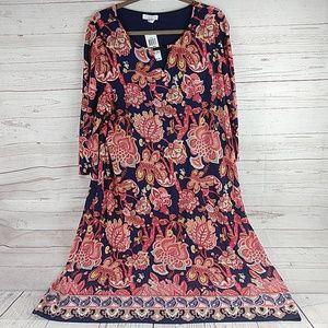 New Charter Club 2X floral dress